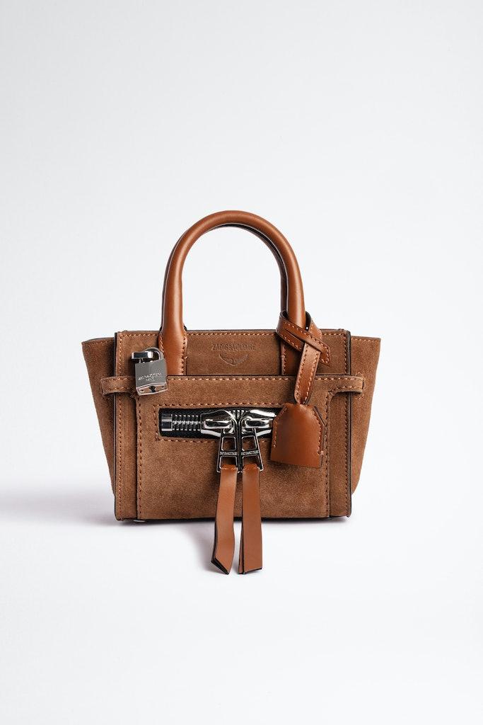 Candide Nano Zip Suede Bag
