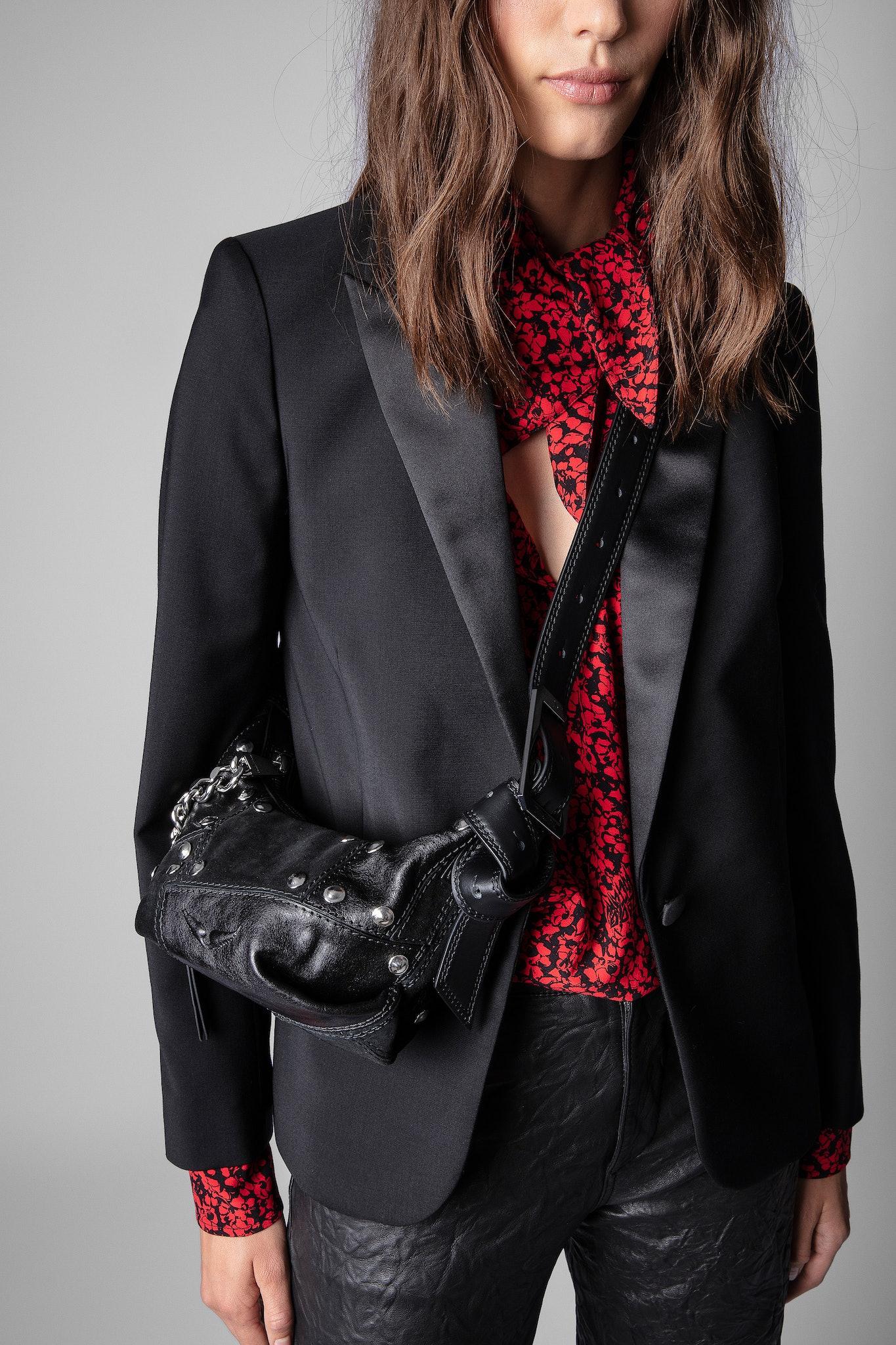 Le Cecilia Xs Patchwork Studs Bag