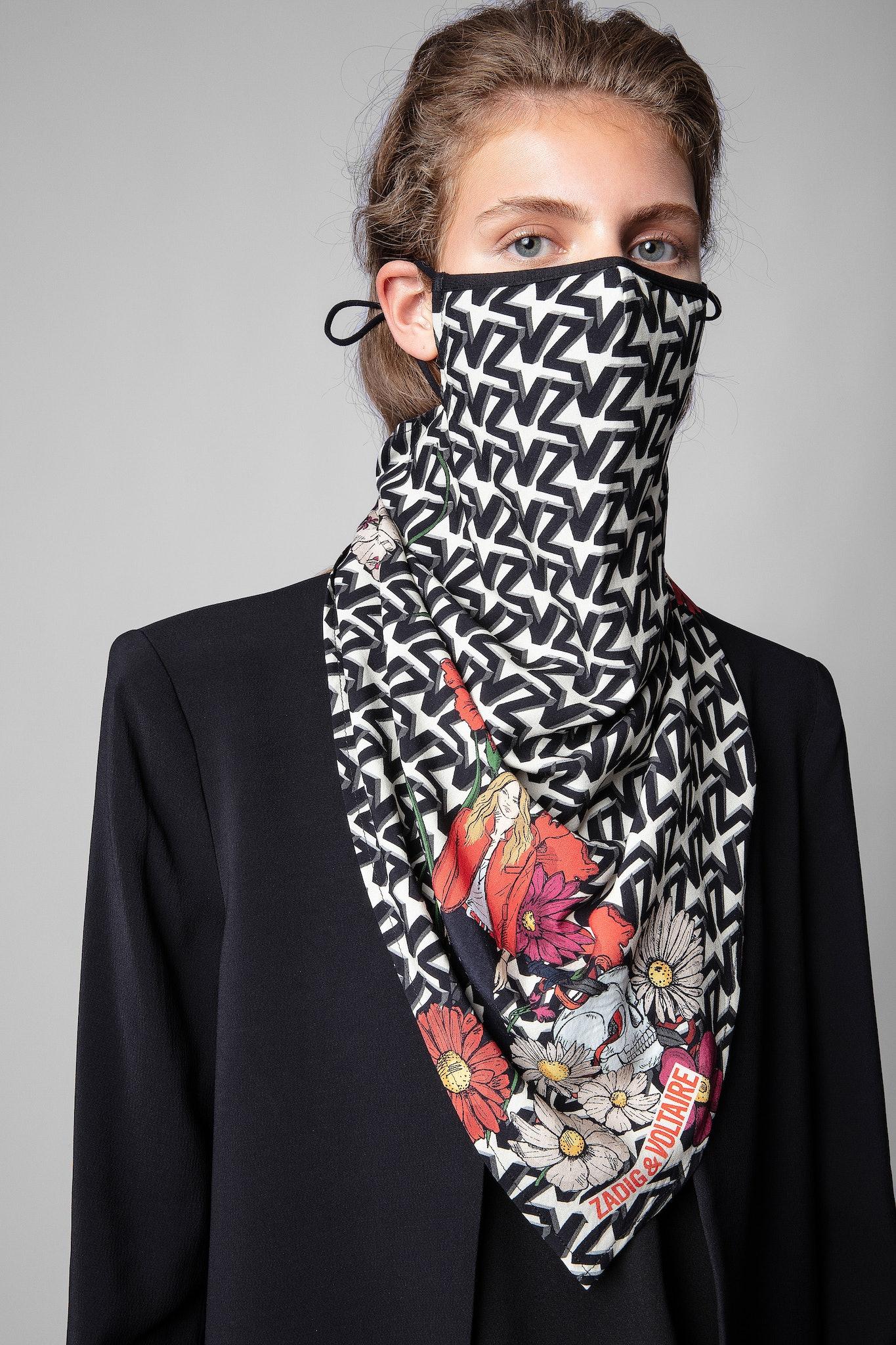 Foulard Cecilia ZV Initiale Mask