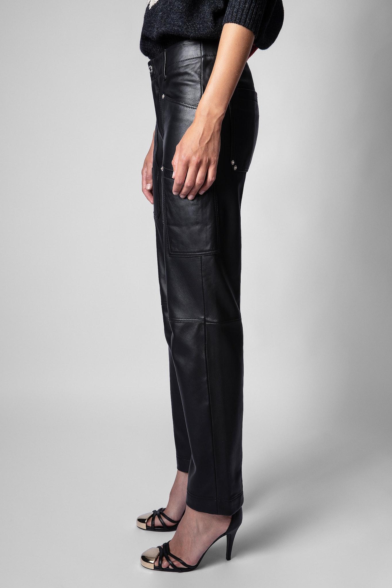 Pantalon Cuir Player