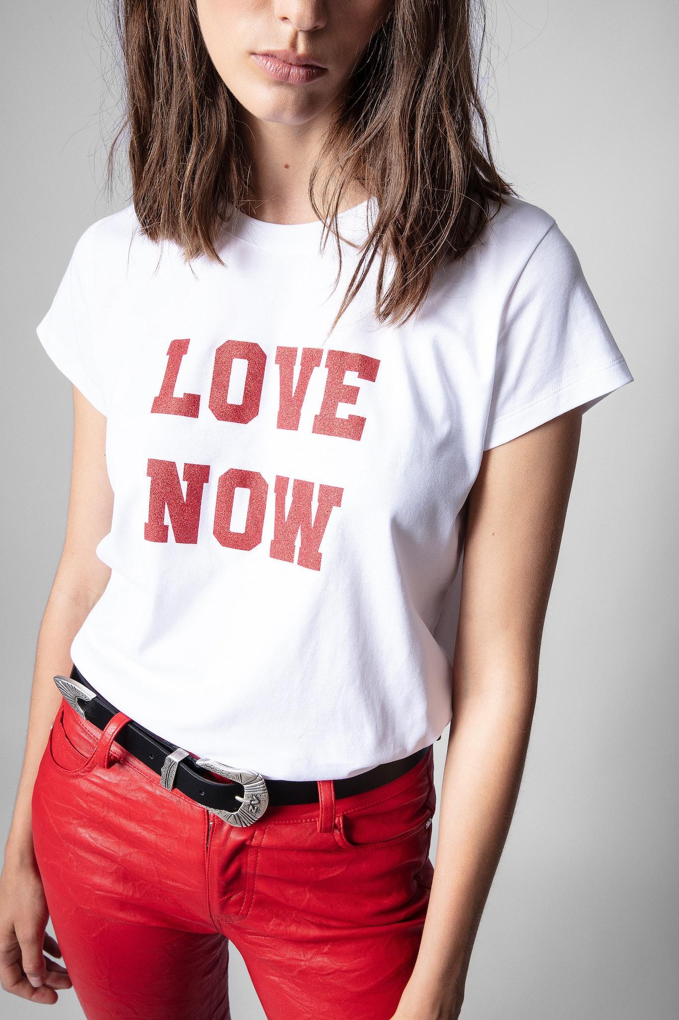 Maglietta Woop Love Now