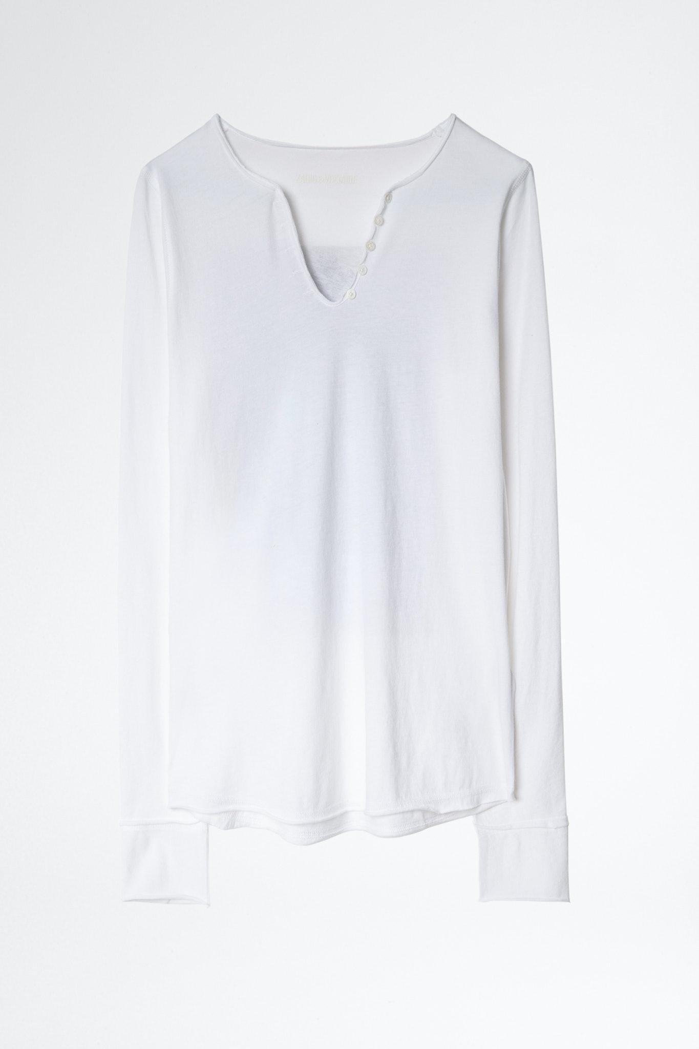 Photoprint henley T-Shirt