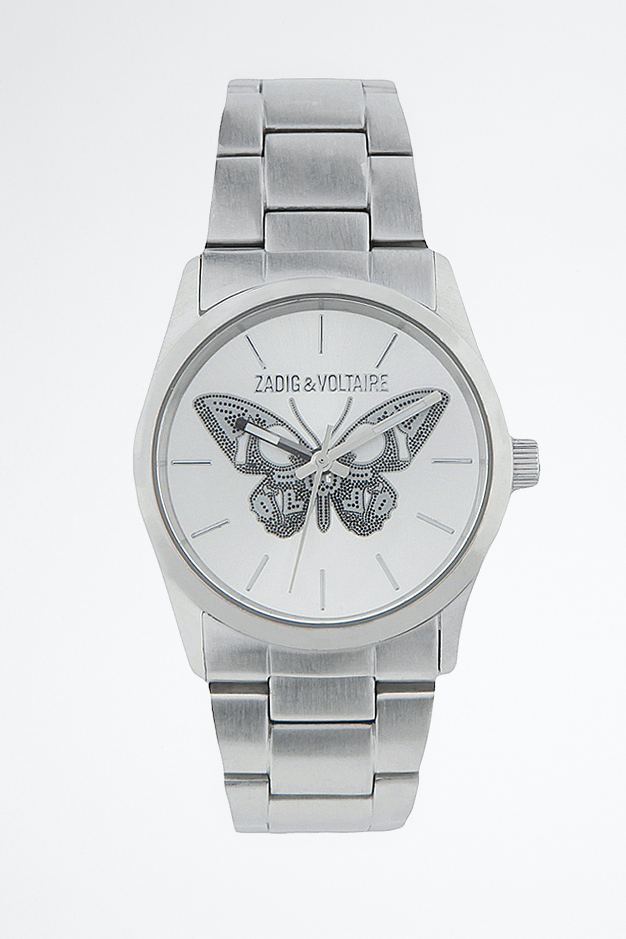 WATCH TIMELESS BUTTERFLY STEEL 33 ZV030.